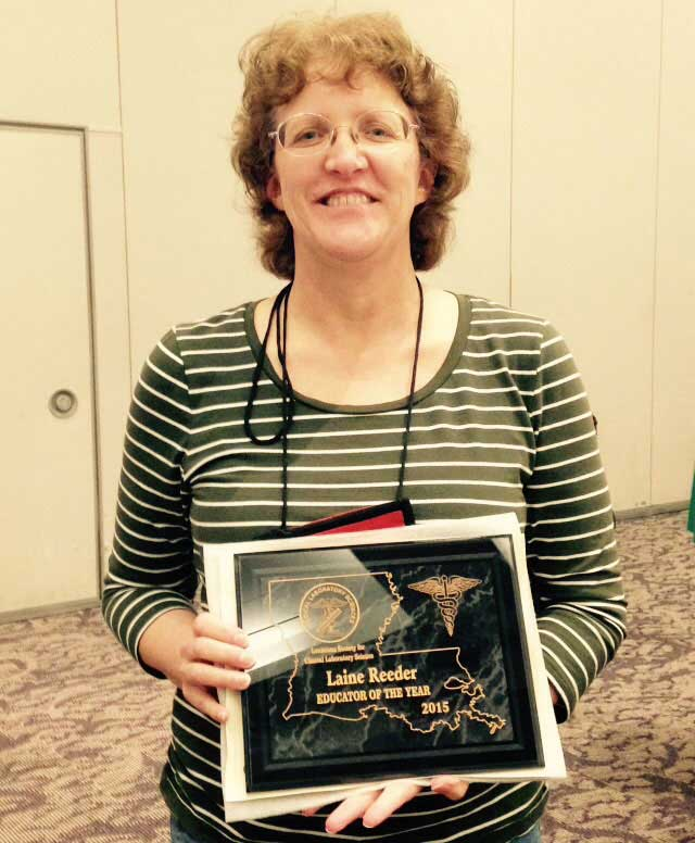 RRMC Employee Named LSCLS Educator Of The Year